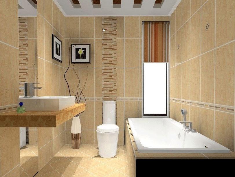 舒适的欧式卫生间瓷砖装修效果图素材大全