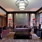 中式客厅茶几设计