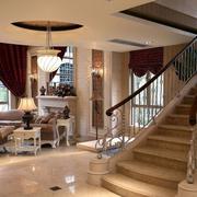 小别墅楼梯效果图