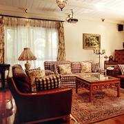 美式田园风格客厅设计
