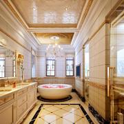 欧式奢华卫生间设计