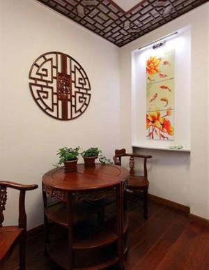 古韵中式餐桌设计