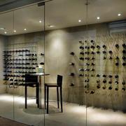 酒窖玻璃门设计