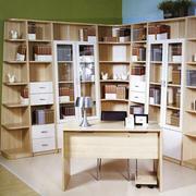 原木书柜装修设计