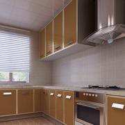 L型厨房效果图