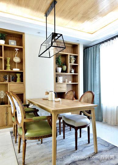 90平米现代简约风格家装小餐厅装修设计