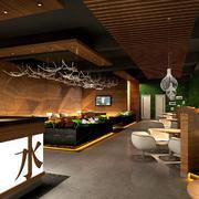 复古风格咖啡厅设计