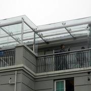 楼顶雨棚装饰