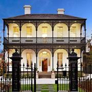 现代别墅大门装修效果图