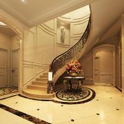 欧式楼梯装潢效果图