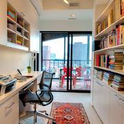 书房大型书架设计
