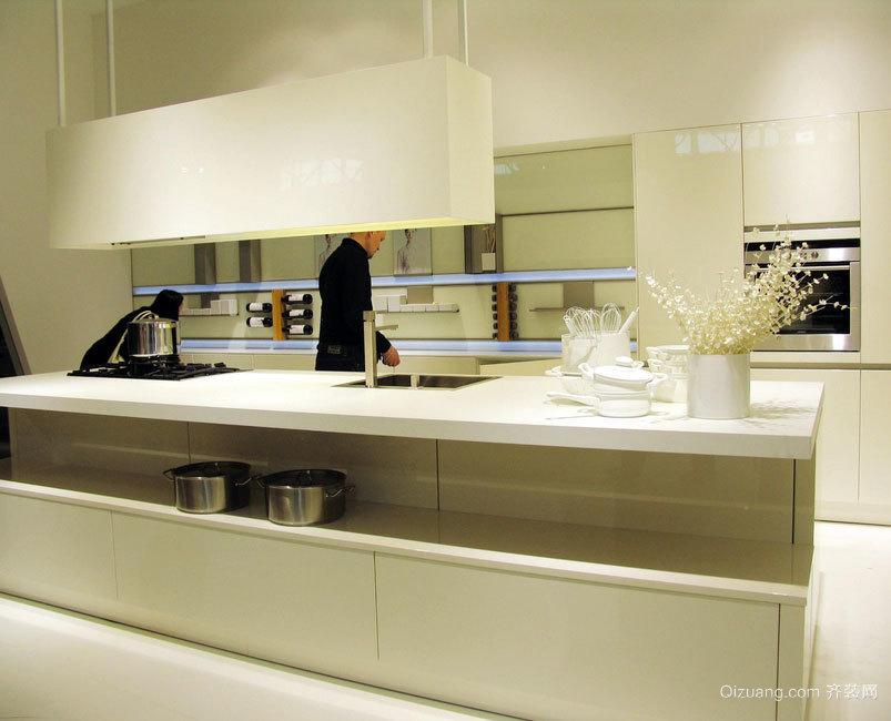 无法超越的现代大户型欧式厨房装修效果图鉴赏