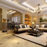 欧式客厅沙发装修图