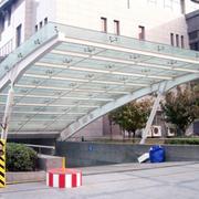 拱形雨棚设计