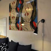 客厅抽象装饰画设计