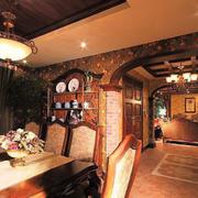欧式餐厅装潢设计