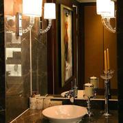 浴室洗漱池设计