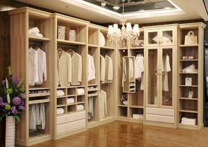 欧式整体衣柜