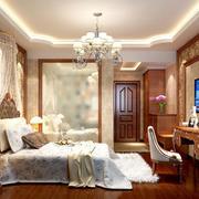 原木卧室设计效果图