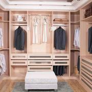 木制清新衣柜装修