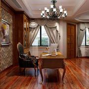客厅自然地板设计