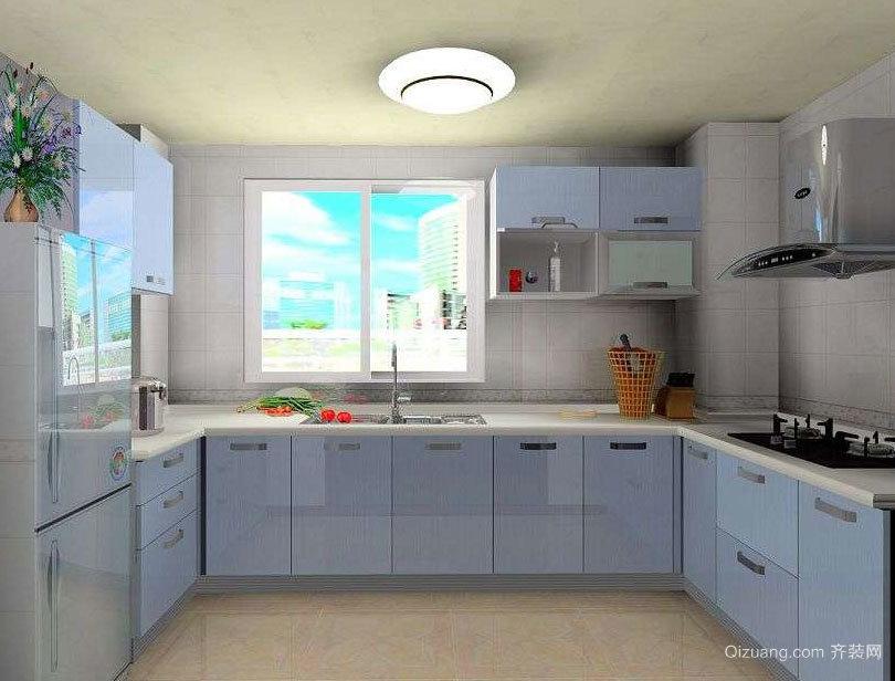 都市家庭中的精致小厨房装修效果图案例欣赏