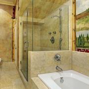 现代简约风格浴缸设计