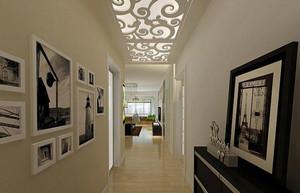 镂空走廊吊顶设计