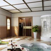 大型别墅按摩浴缸设计