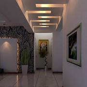 迂回型走廊吊顶设计