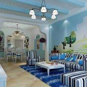 地中海风格背景墙设计
