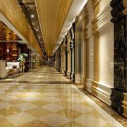 简欧风格走廊吊顶设计