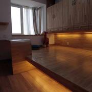 原木卧室榻榻米设计