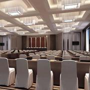 会议室简约吊顶设计