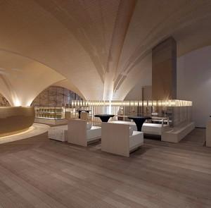 能够招揽跟多客人的精致儒雅咖啡厅沙发装修效果图