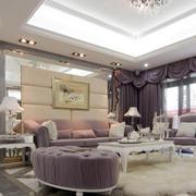 浪漫欧式风格地毯设计