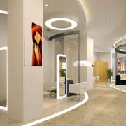 美发店走廊吊顶设计