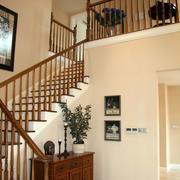 中式洋房楼梯设计