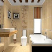 欧式一体式卫生间设计