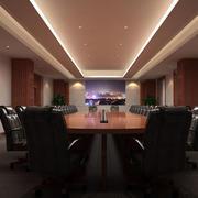 会议室吊顶灯饰装修