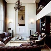 美式客厅沙发设计