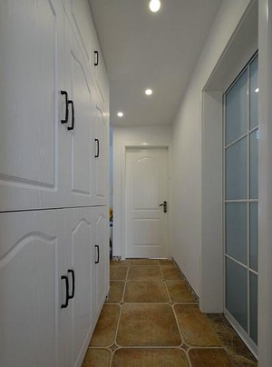 浪漫纯美的地中海风格90平方公寓装修效果图