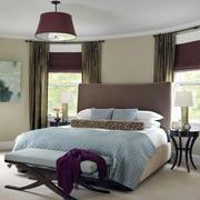 欧式卧室飘窗设计