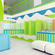 复式楼型游泳馆设计