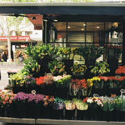 美国街头花店装修