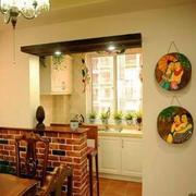 餐厅小型吧台设计