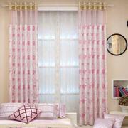 粉色卧室飘窗装修