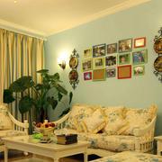 家装客厅照片墙设计