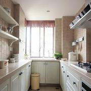 粉色厨房设计