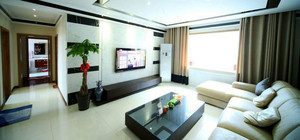 后现代风格电视背景墙装修